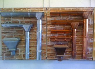 Canalones de aluminio best instalacin canalones e with - Canalon de cobre ...
