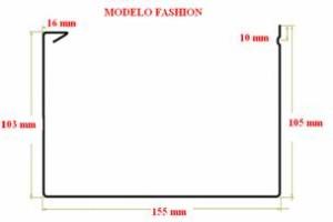 Canalón fashion desarrollo 380